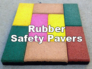 Rubber Safety Pavers